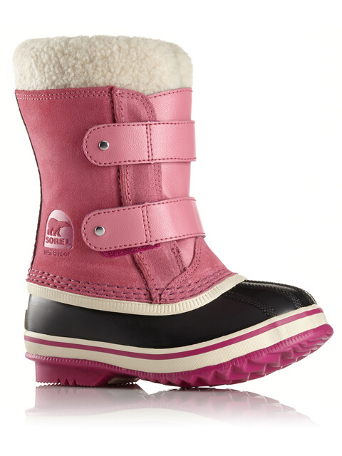 Sorel Childrens 1964 PAC Strap Boots Tropic Pink